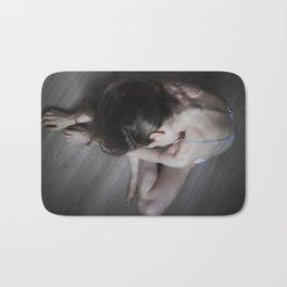 White body Bath Mat