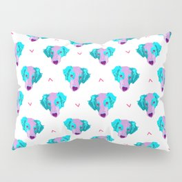 australian shepherd - wht pattern Pillow Sham