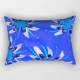 Blush Aria Rose Rectangular Pillow