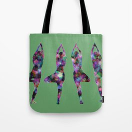 Four Trees green Tote Bag