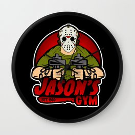 Jacon's Gym Wall Clock