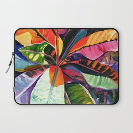 Kauai Croton Leaves Laptop Sleeve