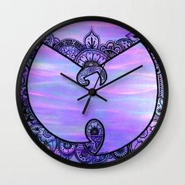 Purp Henna Wu Wall Clock