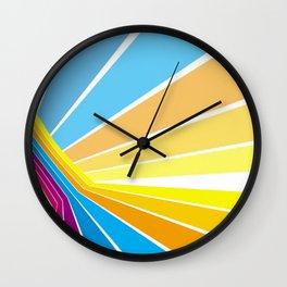 Stripes universe Wall Clock