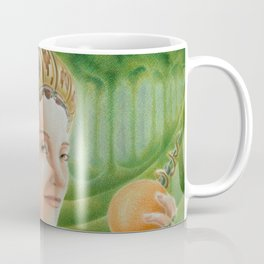 """Portrait in the forest"" (notebook) Coffee Mug"