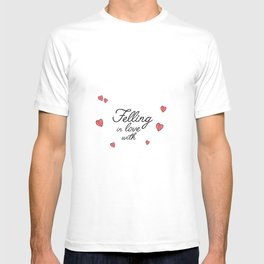 felling in love with T-shirt