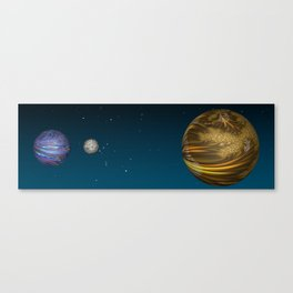 Total Eclipse Canvas Print