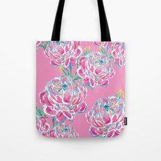 Peony : Pink Tote Bag