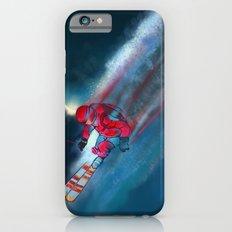 Extreme skiing illustration iPhone 6s Slim Case
