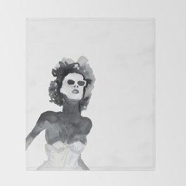 Woman XY 222 Throw Blanket
