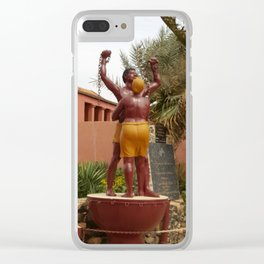 """""""Freedom is not Free!"""" Clear iPhone Case"""