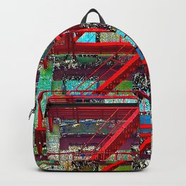 New York City Local Fire Escape Backpack