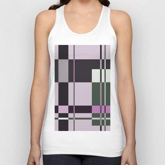 Interesting Geometry - Pale, pastel artwork Unisex Tank Top