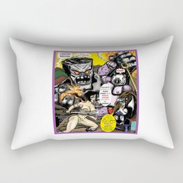 Cover page of Tex Watt's  (UNCENSORED) SUNDAY COMIX POP-ART! Rectangular Pillow