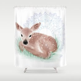 As The Deer Shower Curtain