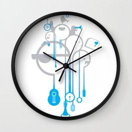 A Rainy Day Wall Clock