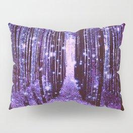 Magical Forest Purple Pillow Sham