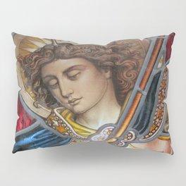 Angel in Glass Pillow Sham