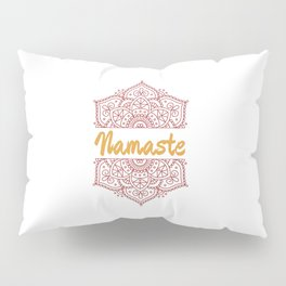 Namaste | Lotus Flower Yoga Yoga Jogi Meditation Pillow Sham
