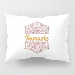 Namaste | Lotus Flower Yoga Yoga Jogi Meditation Pillow Sham