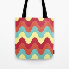 melting colors pattern Tote Bag