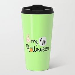 My First Halloween Pumpkin T-Shirt Dtx2t Travel Mug