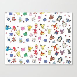 Dittomon Canvas Print