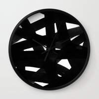 georgiana paraschiv Wall Clocks featuring TX02 by Georgiana Paraschiv