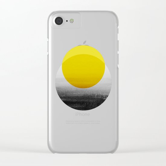 Sunrise Clear iPhone Case