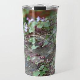 Creeping Flowers Travel Mug