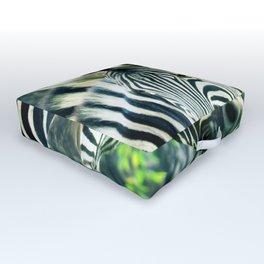Zebras up close Outdoor Floor Cushion