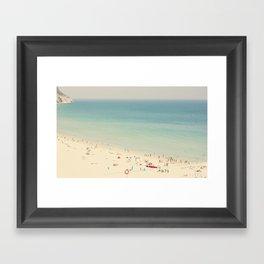 beach VII Framed Art Print