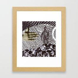 Wave Protection Framed Art Print