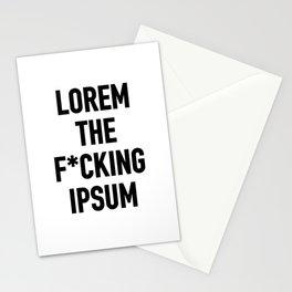 LOREM THE F*UCKING IPSUM Stationery Cards