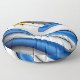 Flag of Uruguay Floor Pillow