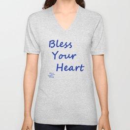 Bless Your Heart Unisex V-Neck