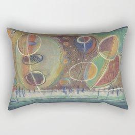 Sunday Dungeness  Rectangular Pillow