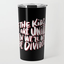 Kids United - Black Travel Mug