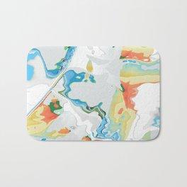 Eazy peazy painterly squeezy Bath Mat