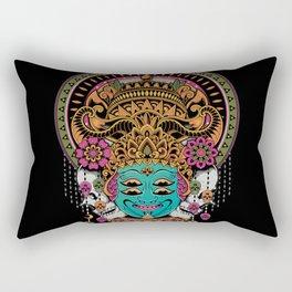 The Mask Dancer Rectangular Pillow