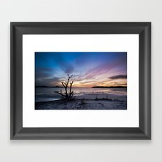 Lovers Key Framed Art Print
