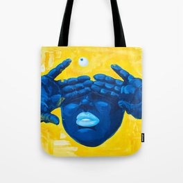 Seen Thru It All Tote Bag