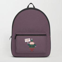 Little Helpers on Strike (Patterns Please) Backpack
