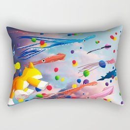 Flying Away Rectangular Pillow