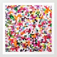mosaic Art Prints featuring Mosaic by Laura Ruth