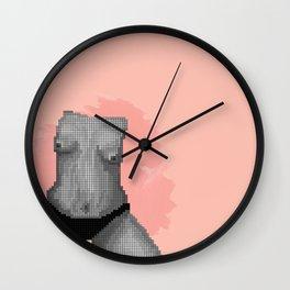 """""""SEND NUDES"""" NO. 08 Wall Clock"""