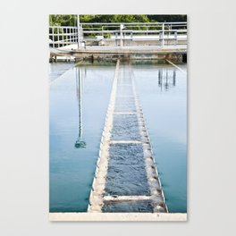 Lead me Toward the Water Canvas Print