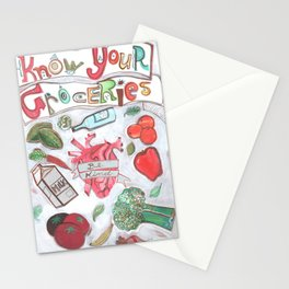 Know Your Groceries Stationery Cards