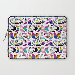 Pride Flag Slugs Laptop Sleeve