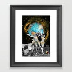 Hippie Neraides Framed Art Print